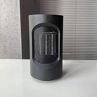 GOYOO Calefactor Eléctrico Cerámico PTC 600W, Oscilación Automática de 40 °, 2 Modos Viento Caliente o Natural Silencio,Negro