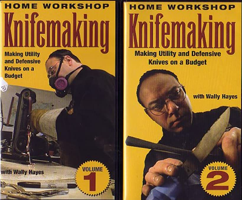 Home Workshop Knifemaking: Making Utility and Defensive Knives on a Budget VHS