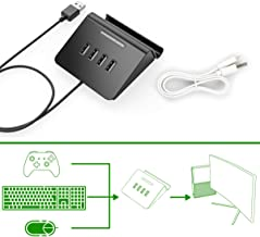 [Newest Version] IFYOO KMAX1 Keyboard and Mouse Adapter Converter for PS4 / Xbox One/Switch / PS3 - Compatible with Fortnitee, PUBG, H1Z1 and Other Shooting Games - [Included 1x USB Sync Cable]