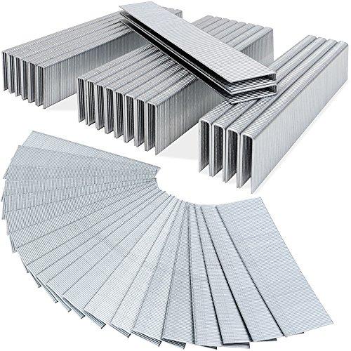 Druckluft - Tackerklammern 5000 Stück 12mm Heftklammern verzinkt 50x100 Klammern U-Typ