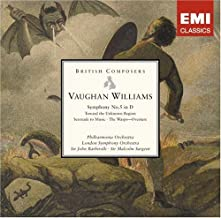 vaughan williams toward the unknown region