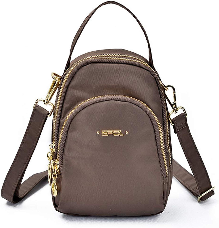 Damen Shopper Shopper Shopper Handtasche Nylon Umhängetasche Gross Wasserdicht für Alltag Büro Schule Ausflug,Coffee Farbe B07QGFBV5T  Zu einem niedrigeren Preis 62b6e5