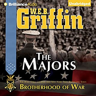 The Majors audiobook cover art