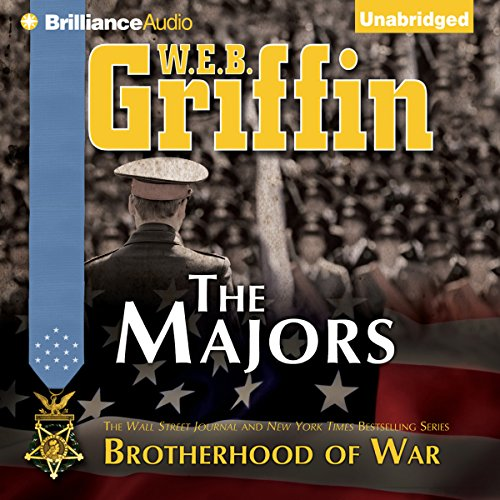 The Majors audiobook cover art