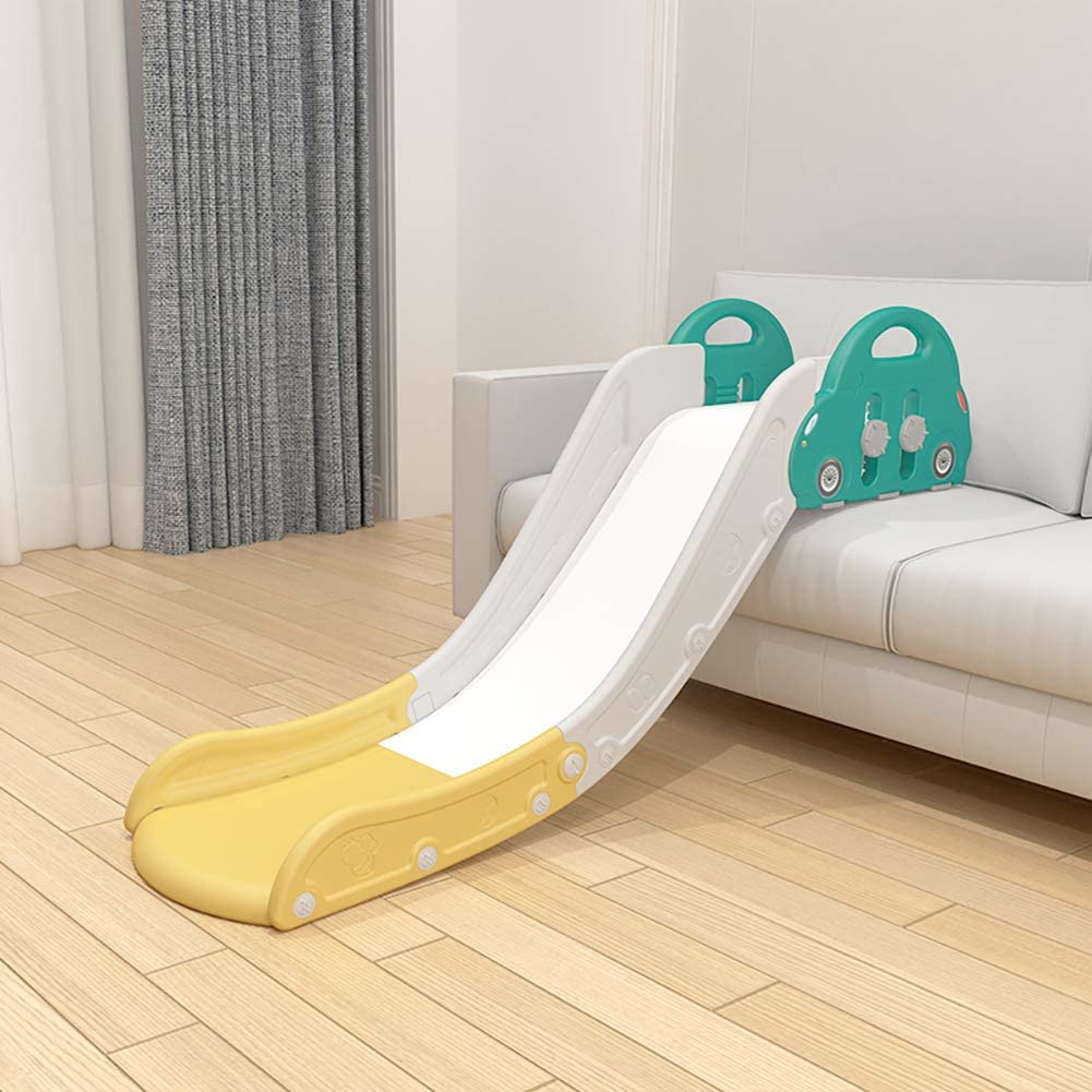 HAPPYMATY Kids First Slide 220lbs Hold Use with Sofa or Bed Easy