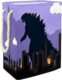 Vockgeng La Ville des Dinosaures Bacs de Stockage Panier de Rangement imperméable Pliable de Jouets de Jouets de Panier av...