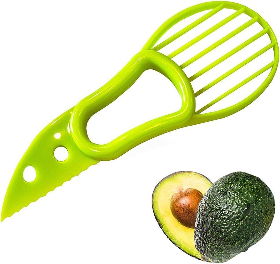 Yillsen Avocado Slicer and Saver Pitter Tool - 3 in 1 Multi-func