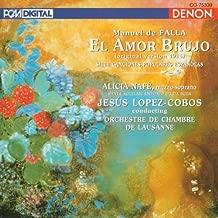 Falla: El Amor Brujo original version of 1915 7 Canciones Populares Españolas