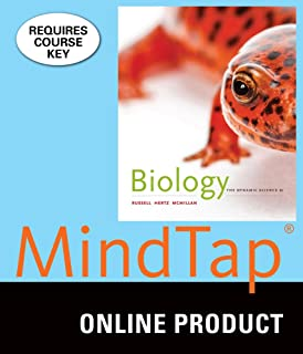 MindTap Biology for Russell/Hertz/Mcmillan's Biology: The Dynamic Science, 4th Edition