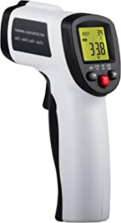 Lasergrip 2-in 1 Thermal Leak Detector Non-Contact Infrared Celsius and Fahrenheit Thermometer with Tricolor Backlight Indicator and Audible Sound