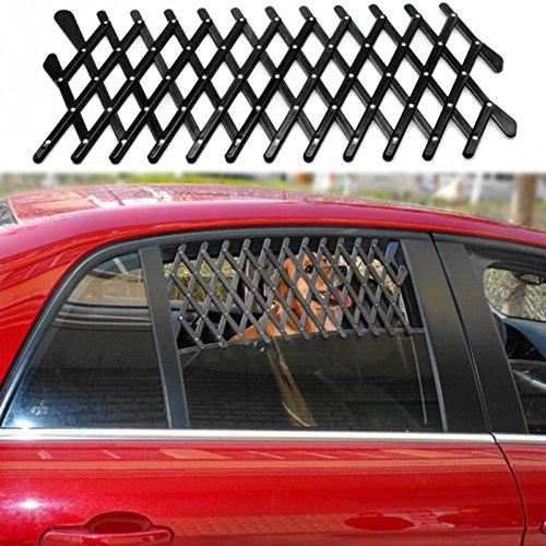 Changlesu Hund Reise Auto Fenster Grill Vent Ventilator Schutz Mesh Sicherheitsgitter Teleskop Zaun 24X11X1 cm