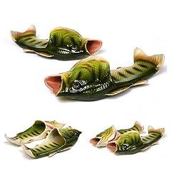 2b685e1a79a3 BING RUI CO 5 Colours Fish Slippers Beach Shoes Non-Slip Sand .