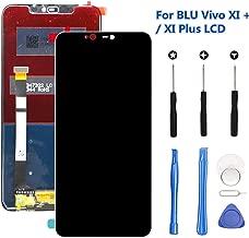 for BLU Vivo XI Plus LCD Screen Replacement Kit (Black), Original 6.2