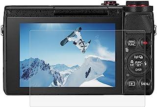 BYbrutek Protector de Pantalla de Vidrio Templado para Canon G7X / G9X / G5X 03 mm Ultratransparente Dureza 9H Antiarañazos Antihuellas (G7X / G9X / G5X)