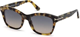 ff0d8a4fd8 Tom Ford FT0614 55B 52 Monturas de Gafas, Marrón (Avana Colorata\\Fumo