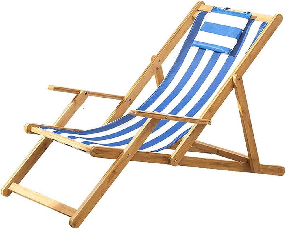 Wood 2021 model Sling Chair Outdoor Folding Adjustable wi Ranking TOP13 Patio Beach