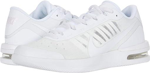 White/White/Pink Foam/Black