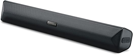 Portronics POR-891_Pure Sound Pro III Bluetooth 4.2 an All-in-One Versatile Wireless SOUNDBAR with FM Tuner, 3.5mm AUX, Powerful 10W Sound and USB Port.
