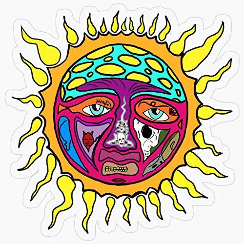 Lplpol Stickers Sublime Sun Gift Decorations 5.5' Vinyl Stickers, Laptop Decal, Water Bottle Sticker