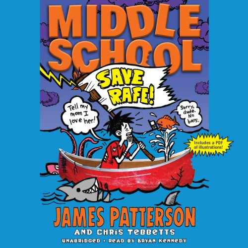 Middle School: Save Rafe! audiobook cover art