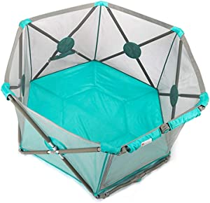 Baby playpen-SYY Portable-playpens for Baby Children Toddlers Easy Install and Washable Available Three Styles  Color Style2