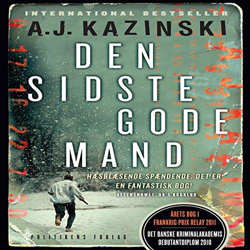 Den sidste gode mand audiobook cover art
