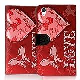 wicostar Wallet Book Style Flip Handy Tasche Hülle Schutz Hülle Schale Motiv Etui für LG L Bello 2 - Flip UMH15 Design6