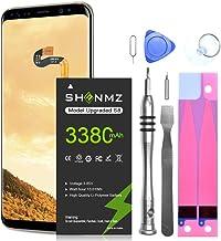Galaxy S8 Battery,[Upgraded] 3380mAh Li-Polymer...