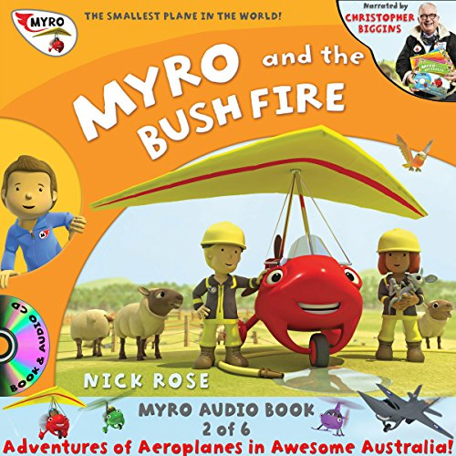 Myro and the Bush Fire  By  cover art
