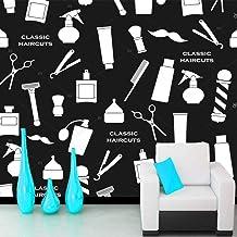 Dzrmb Personalizado 3D Personalidad Visual Foto Papel Pintado Guerra Juego Tema Mural KTV Internet Cafe Caja Militar Tema Tanque y avión @ 350x245_cm_ (137.8_by_96.5_in_) _