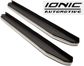 Ionic CXV (fits) 2011-2018 Jeep Grand Cherokee Custom Running Boards Side Steps 123200 (Except EcoDiesel, Summit, or Trailhawk Models)