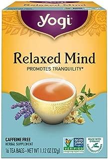 Yogi Herbal Teas, Relaxed Mind 16 ea ( pack of 2)