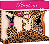 Playboy Geschenkset Play It Wild Eau de Toilette mit Duschgel, 1er Pack (1 x 280 ml)