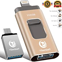 iPhone Flash Drive for iPhone 256GB 4 in 1 USB Flash...