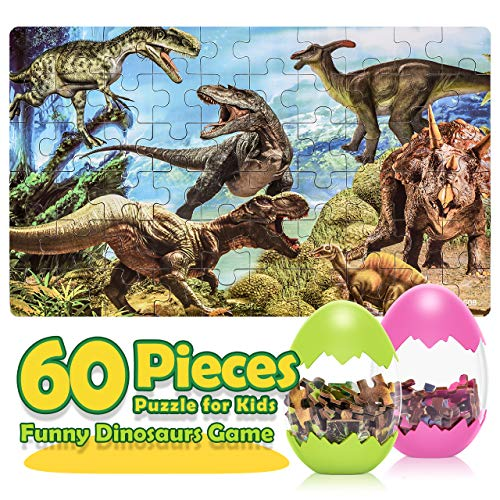 ATOPDREAM Toys for 3 4 5 6 7 8 Year Old Boys Girls, Jigsaw Puzzles for Kids...