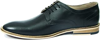 ASM Handmade Black Leather Shoes with Handmade Neolite Sole