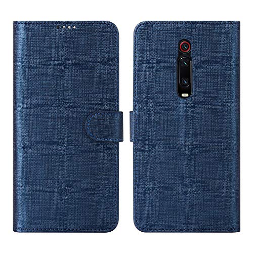 CRESEE Cover Xiaomi Mi 9T, Flip Case Folio Leather Case [3 Card Slot] [Magnetic Clasp] [Stand Function] Cover Wallet for Mi 9T (Brown)