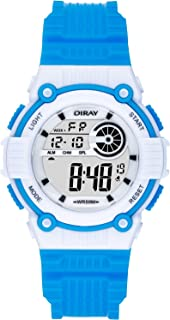Kids Digital Sport Watch Boys Girls 50M Waterproof Swimming Watch Multi Function Digital Child Electronic Sports Watch with Alarm Stopwatch