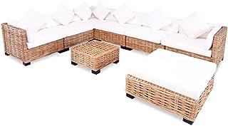 Amazon.fr : salon de jardin table basse poufs : Jardin