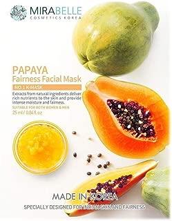 Mirabelle Fairness Facial Mask, Papaya, 25ml
