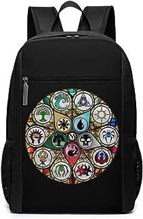 Mochilas Tipo Casual,Bolsa de Viaje Girl's Magic The Gathering Bag School Backpack