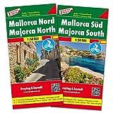 Mallorca norte y sur. 2 mapas. Escala 1:50.000. Freytag & Berndt.: Set wegenkaarten 1:150 000: 531 (Auto karte)