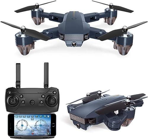 SJAPEX RC Drohne mit Kamera HD,Faltbare Helikopter Quadcopter mit GPS Navigation Ferngesteuert Kopflos Modus H nhalt 3D Flips Spielzeugdrohne für Kinder und Anf er