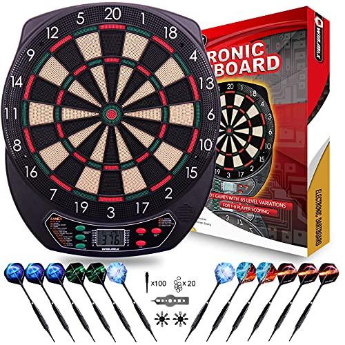 WIN.MAX Elektronische Dartscheibe elektronisches Elektronik Dartboard Dart Scheibe elektronisch Dartautomat E Dartboards (PC SHAFTS)