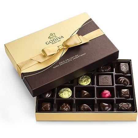 GODIVA Chocolatier Dark Chocolate Gift Box, 22-Ct.