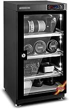 خزانة ملابس كهربائية جافة , صندوق مزيل الرطوبة لتخزين عدسات الكاميرا اللاسلكية , ArBS-TURTURK , إضاءة LED , بدون ضوضاء ومن...