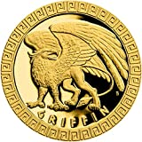 Power Coin Griffin Grifo Mythical Creatures Moneda Oro 5$ Niue 2020