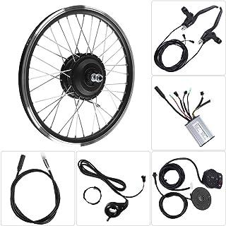 E-Bike変換キット、36V/48V 250WモーターKT900S LEDディスプレイ700Cホイール電動自転車変換キット(36Vフロントモーター)