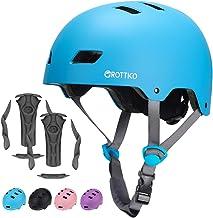 Toddler Kids Bike Helmet for Boys Girls, Muti-Sport Helmet for Cycling Skate Scooter Skateboard, Adjustable for 3-14 Years...