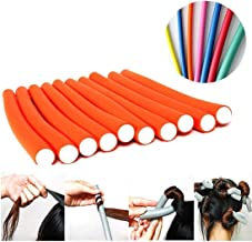 AY Hair Foam Rollers Soft Twist Curler Rods for Your Hair -10 Pieces